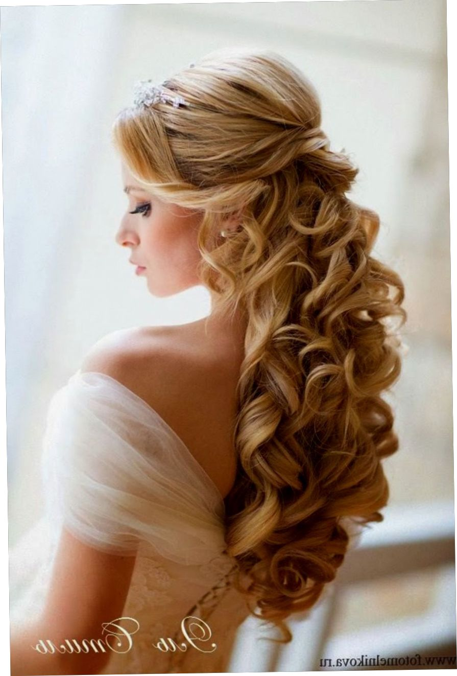 Nice Wedding Hairstyles Hair Styles Long Hair Styles Half Up Hair