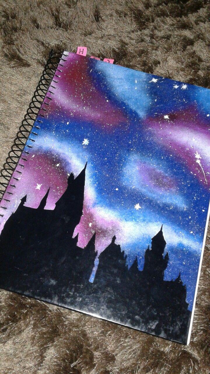 Caderno Diy Hogwarts Harry Potter Harry Potter Harry Potter