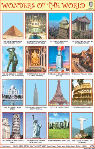 Wonders Of The World Wonders Of The World World Seven Wonders