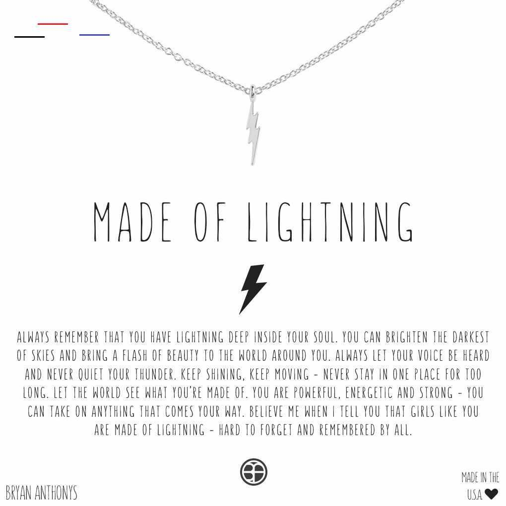 Gateautrompeloeil In 2020 Lightning Tattoo Lightning Lightning Bolt Necklace