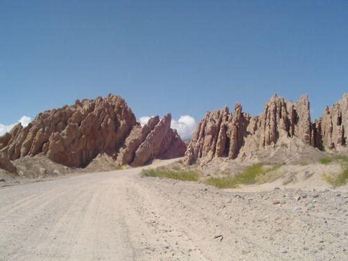 llegando a Cachi, Salta, Argentina