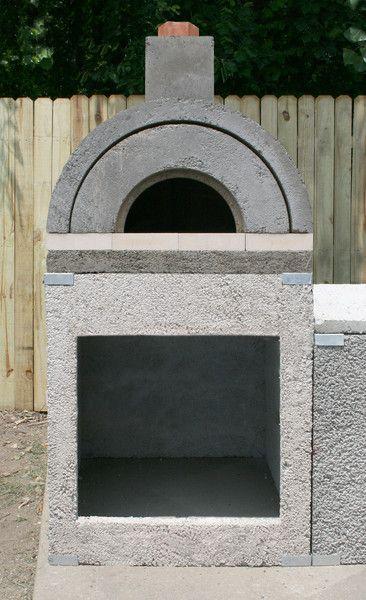 Unfinished Amerigo Outdoor Pizza Oven.