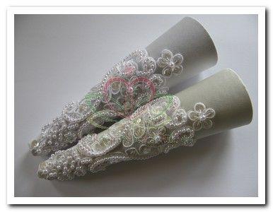Bruidsboeket en corsage maken: Luxe Bruidsboekethouder set