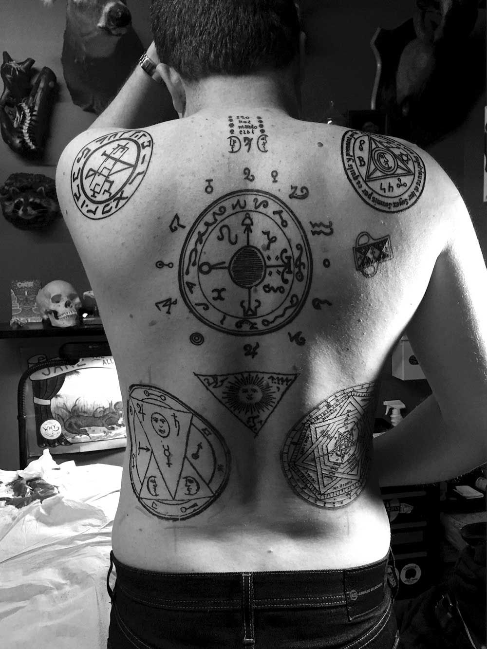 Chaos magick tattoos spirituality and inspiration pinterest chaos magick tattoos buycottarizona Images