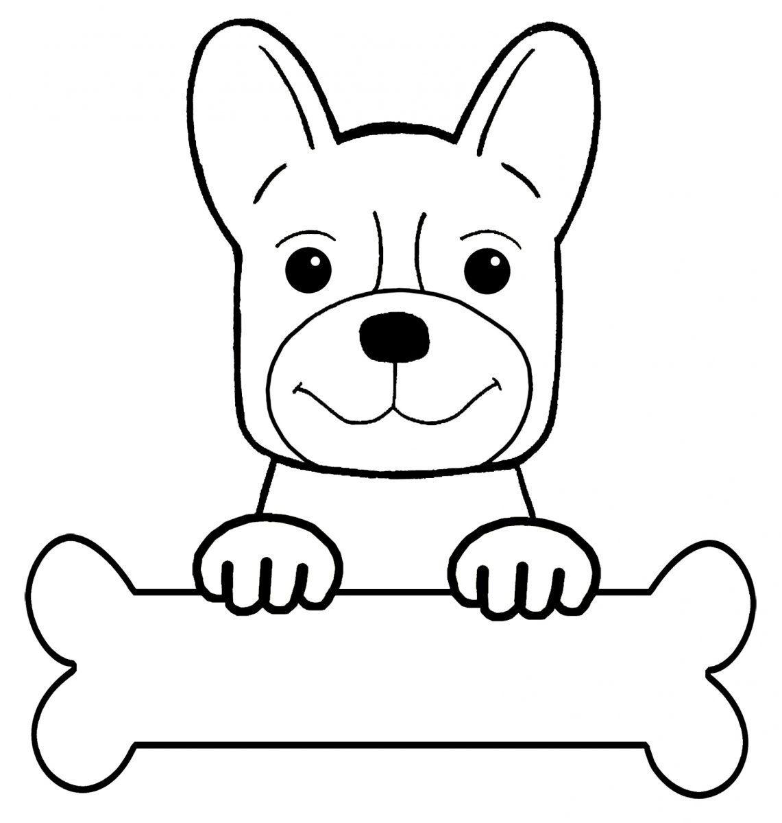 Desenhos De Cães Para Pintar Desenhos Para Colorir De Cães | ana ...