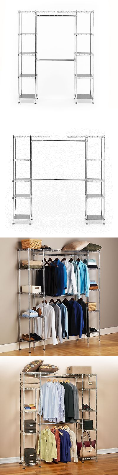 Closet Organizers 43503: Seville Classics Expandable Closet Room Organizer  New New New  U003e BUY