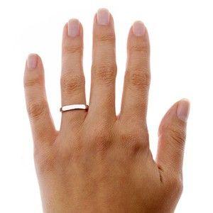 Platinum 3mm Comfort Fit Wedding Ring Engagement Ring On Hand Comfort Fit Wedding Ring Platinum Wedding Rings