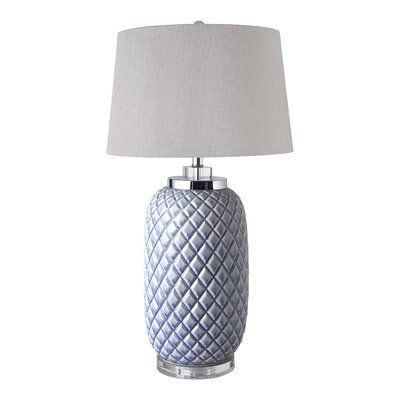 Highland Dunes Gracia 31 Quot Table Lamp Table Lamp Pineapple Lamp Bedside Table Lamps