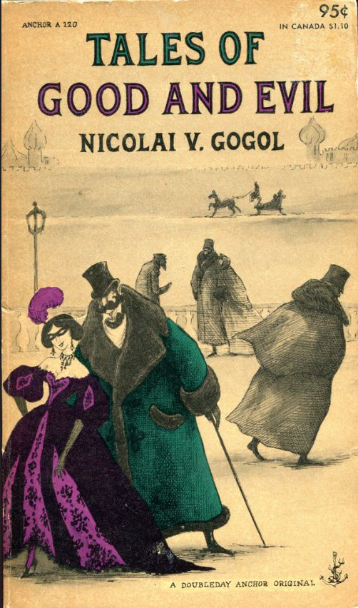 Edward Gorey cover for Doubleday Anchor paperbacks, 1950s