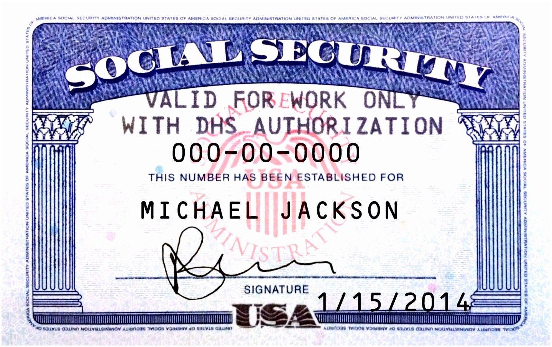 Social Security Card Template Photoshop Example Nurul Amal