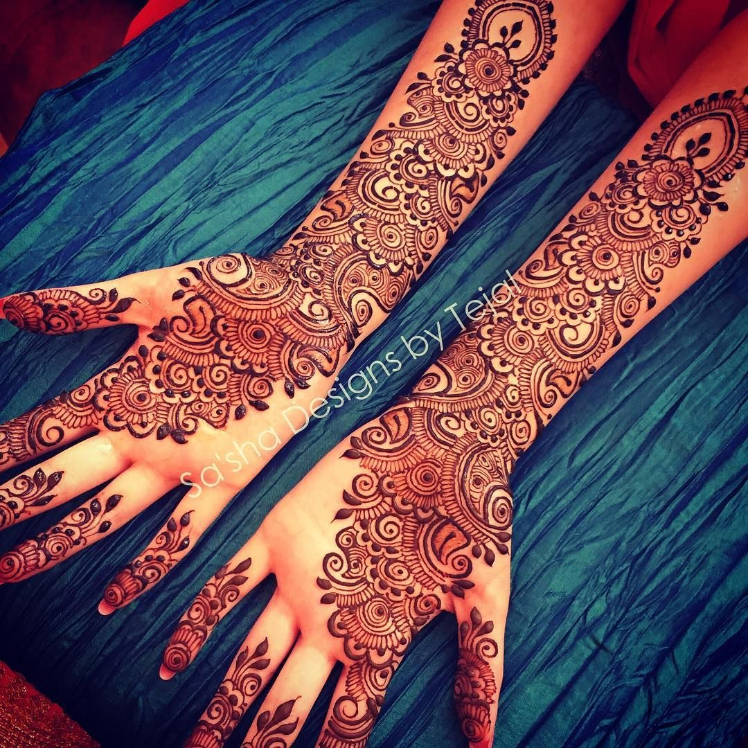 Stunning Bridal Henna Designs By Ash: From Sasha_designs On Instagram …