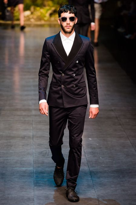 Dolce & Gabbana Spring 2014 Menswear Collection Slideshow on Style.com