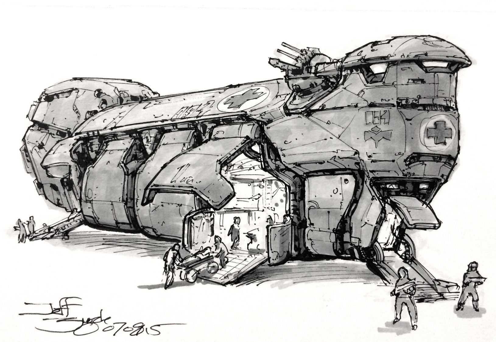 Spaceship Art By Our Friend Jeff Zugale Jeff S Starshipwright