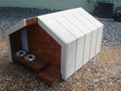 UltraChic Modern Dog Houses for the Pup Who Has Everrrrything