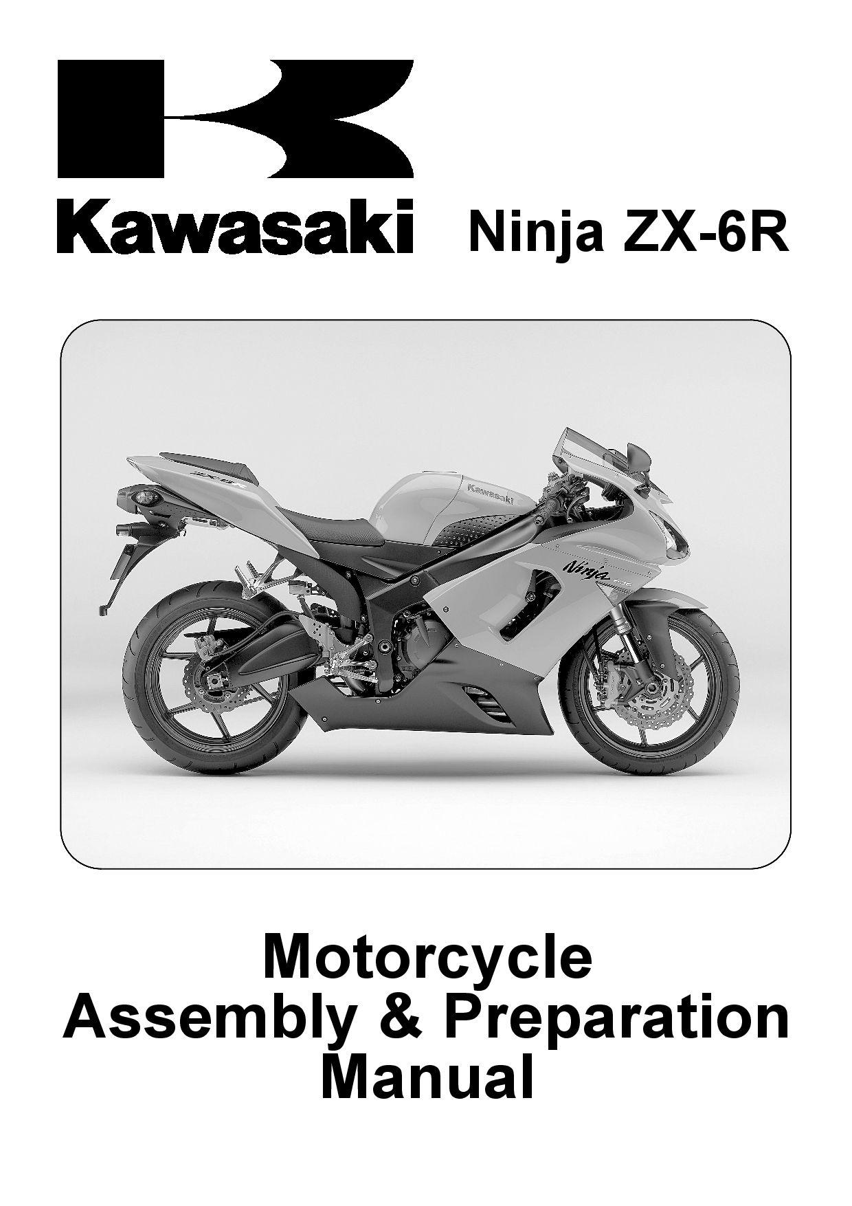 Kawasaki Zx 6r 2005 Repair Manual Assembly Pdf Download Service Manual Repair Manual Pdf Download Repair Manuals Kawasaki Zx6r Zx6r