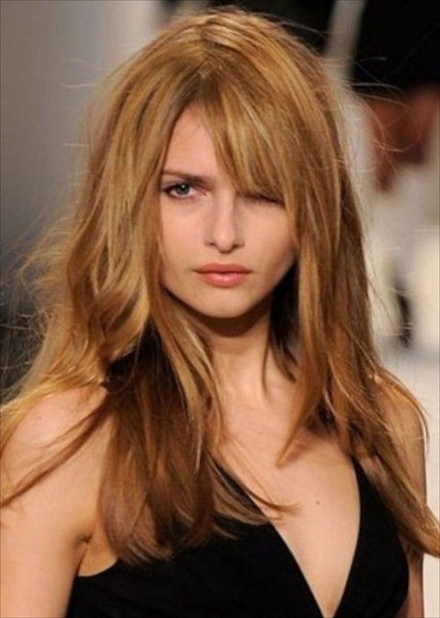 Best Approach For Long Hairstyles For Round Faces In 2018 Latest