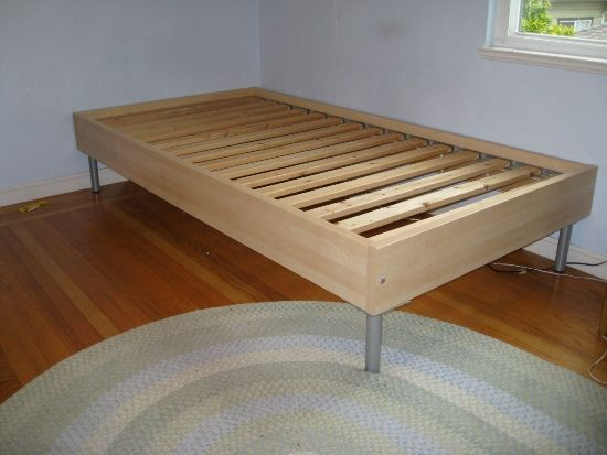 Ikea twin bed | home space ideas | Pinterest