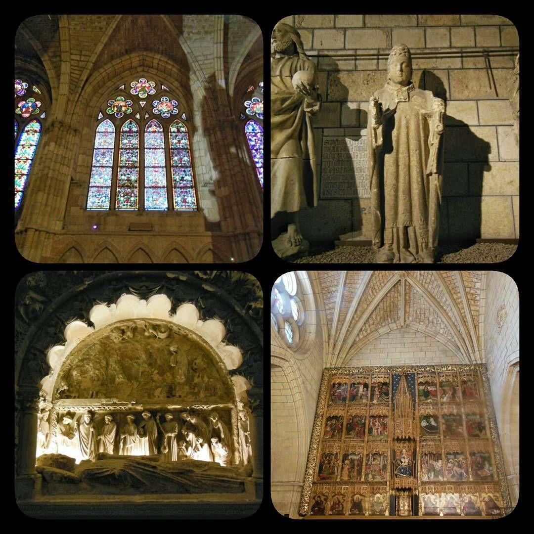 La #Catedral de #Leon, una de las catedrales góticas más hermosa de #España. http://www.europeosviajeros.com