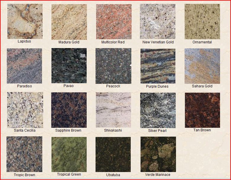 Lapidus granite bathrooms pinterest granite granite for Kitchen granite countertops colors
