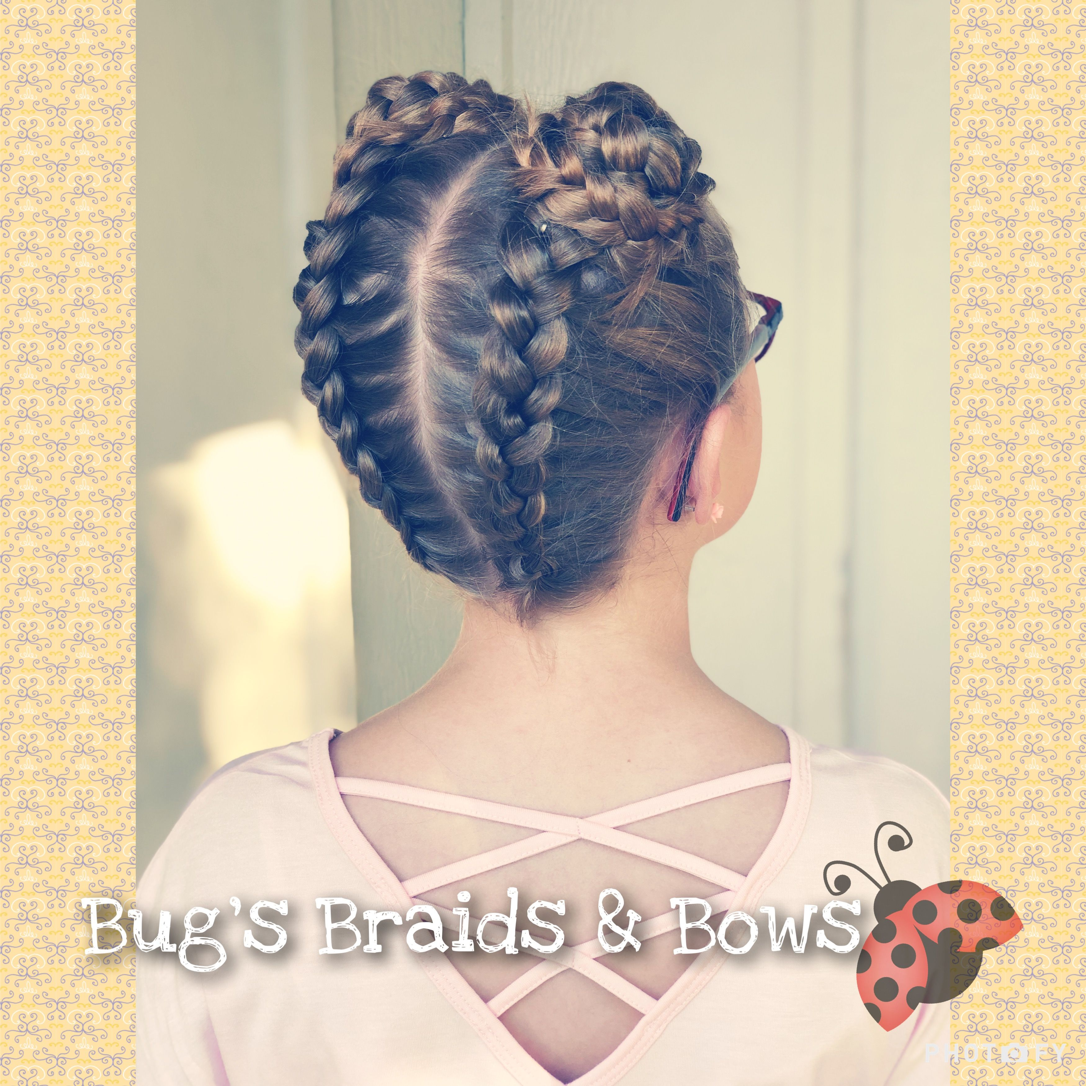 We Are Back To School I Hope Everyone Had A Great First Day Back Yesterday Today We Did Climbing Dutch Braids Into Space B Braids Dutch Braid Hair Styles