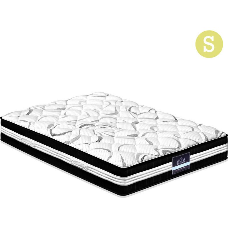 Giselle Single Fabric Pocket Spring Mattress 30cm Buy New Arrivals Mattress Pocket Spring Mattress Mattress Design