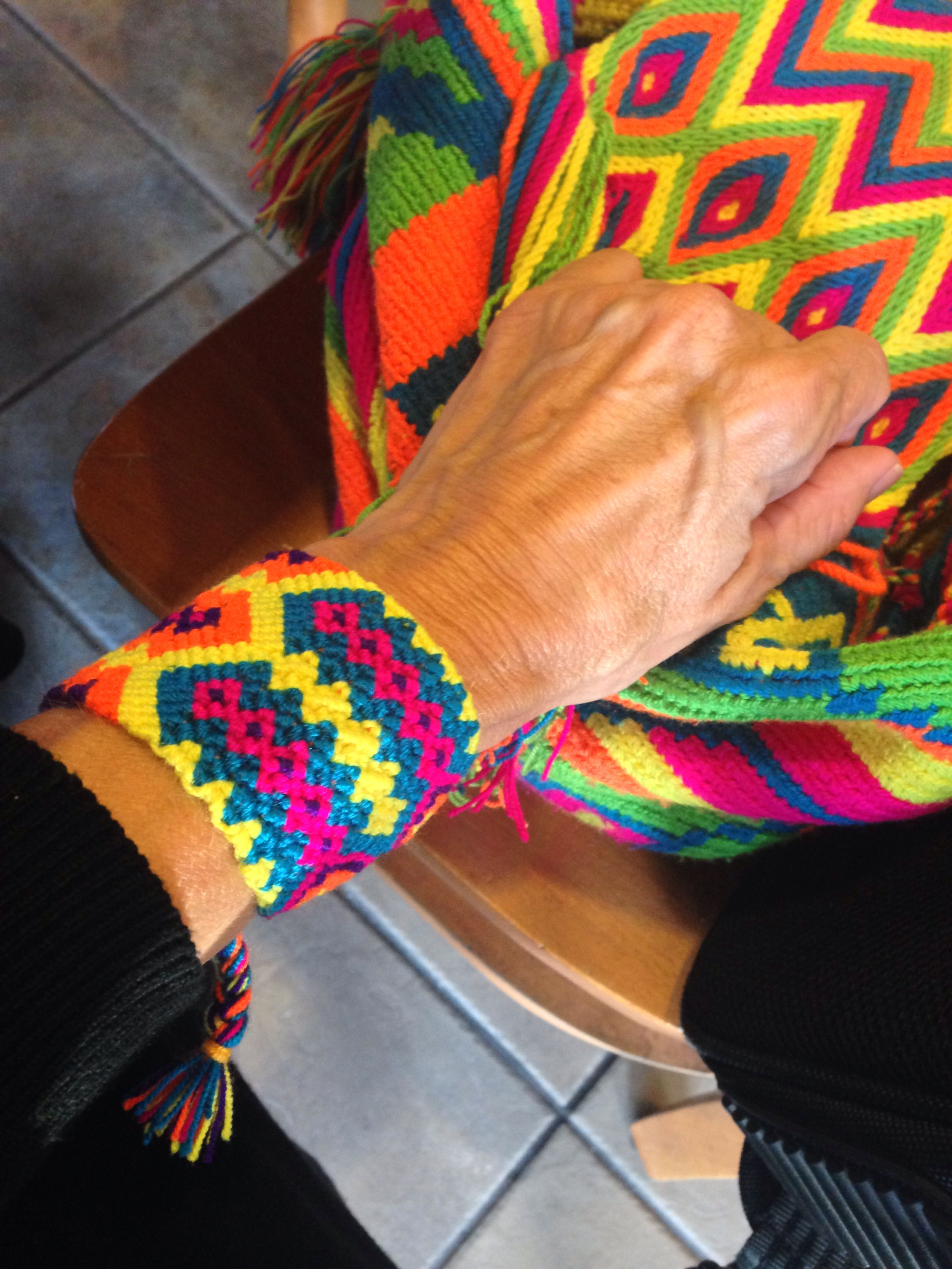 Wayuu Bracelets Diy Bracelet Macrame Tapestry Bag Crochet Friend