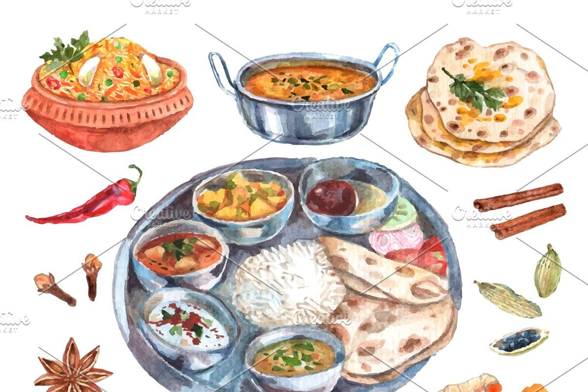 Traditional Indian Food Ingredients Traditional Indian Food Indian Food Recipes Food