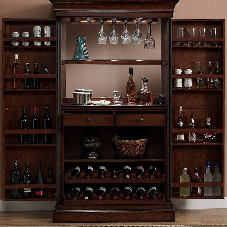Raleigh Bar Cabinet With Wine Storage In 2020 Bar Furniture For Sale Bar Furniture Home Bar Essentials