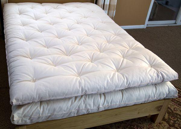 Ultimate Organic Eco Pure Wool Mattress Topper Organic Cotton Covered Eco Pure Wool Filled Topper Underquilt Twi Wool Mattress Wool Mattress Pad Mattress