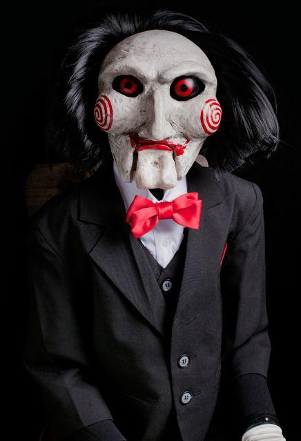 SAW BILLY PUPPET Trick ou Treat Studios Jigsaw Horreur Replica doll