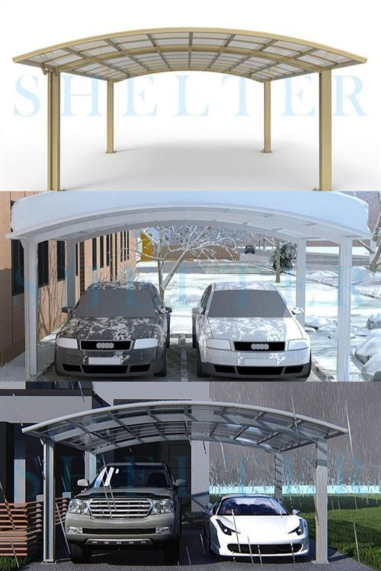 Regular Portable Arch Style Carports and Garage for SUV ...