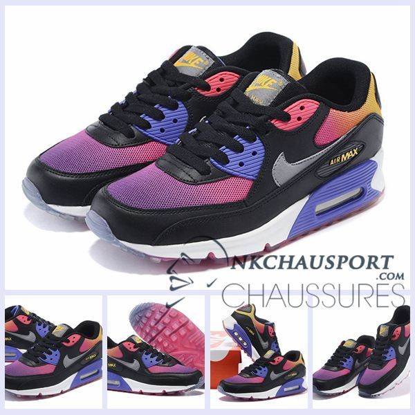 brand new f46bf 19a80 Nike Air Max 90   Meilleur Chaussures Running Homme Colorful