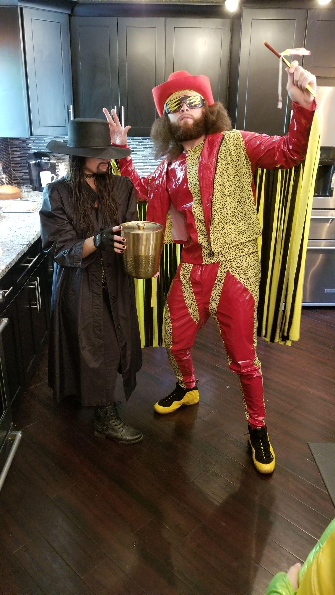 wwe undertaker macho man halloween costume