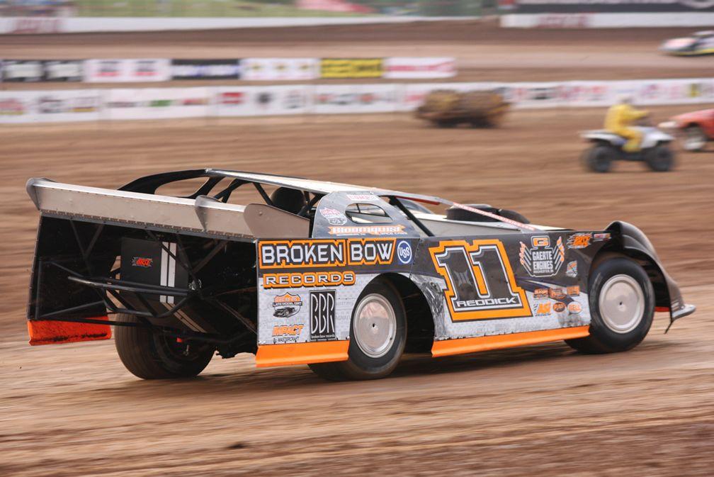 """Tyler Reddick """"California Kid"""" Dirt racing, Late model"""