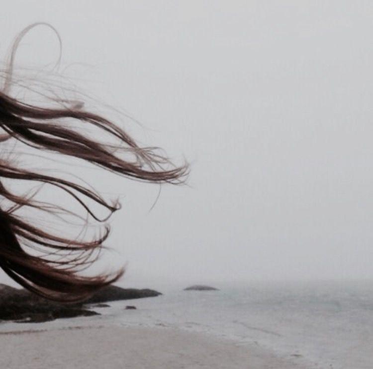 фотографа или картинка волос на ветру левой