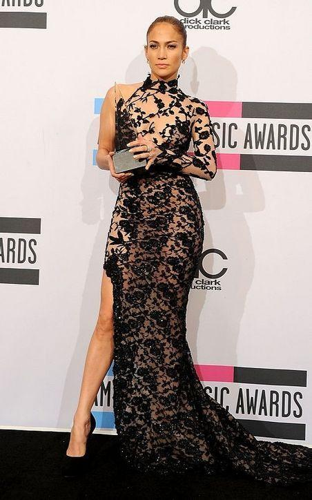 Vestidos Más Reveladores De Jennifer Lopez Actitudfem