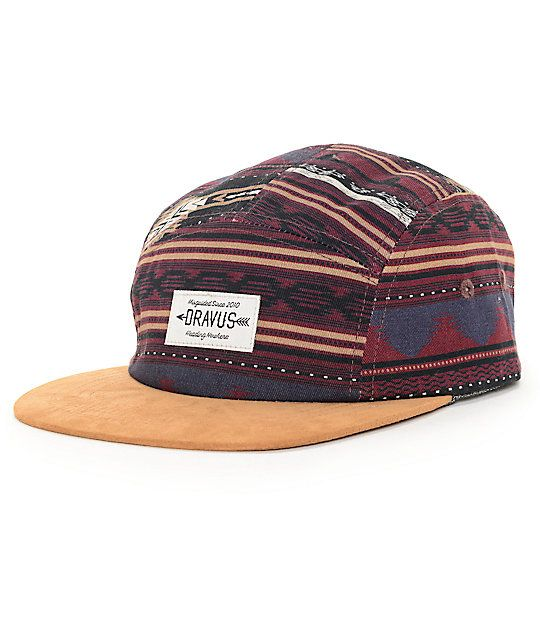 7c1f990c5 Dravus Panama 5 Panel Hat in 2019 | Fitted Hats | 5 panel hat, Hats ...