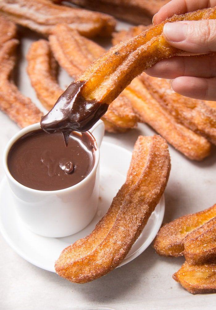 Homemade Churros with Chocolate Dipping Sauce - Yummy!...Sweet Treats Homemade Churros with Chocolate Dipping Sauce - Yummy!...Sweet Treats ,