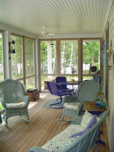 Enclosed patio simple and lots of extra useful space for Cheap home addition ideas