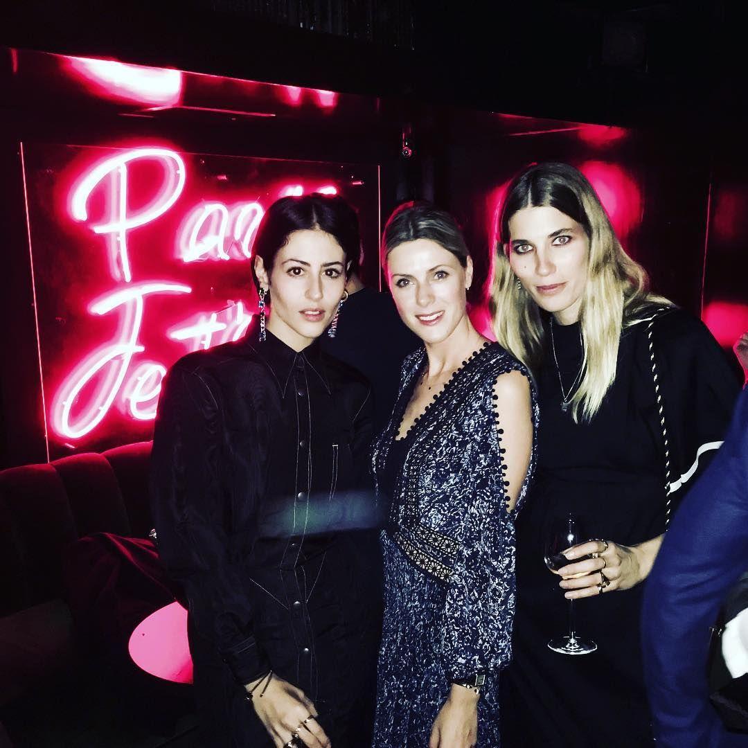 «About last night at the @dolcegabbana party in Paris ❤️ @veronikaheilbrunner @gilda_grazia_it #pfw #d&g»