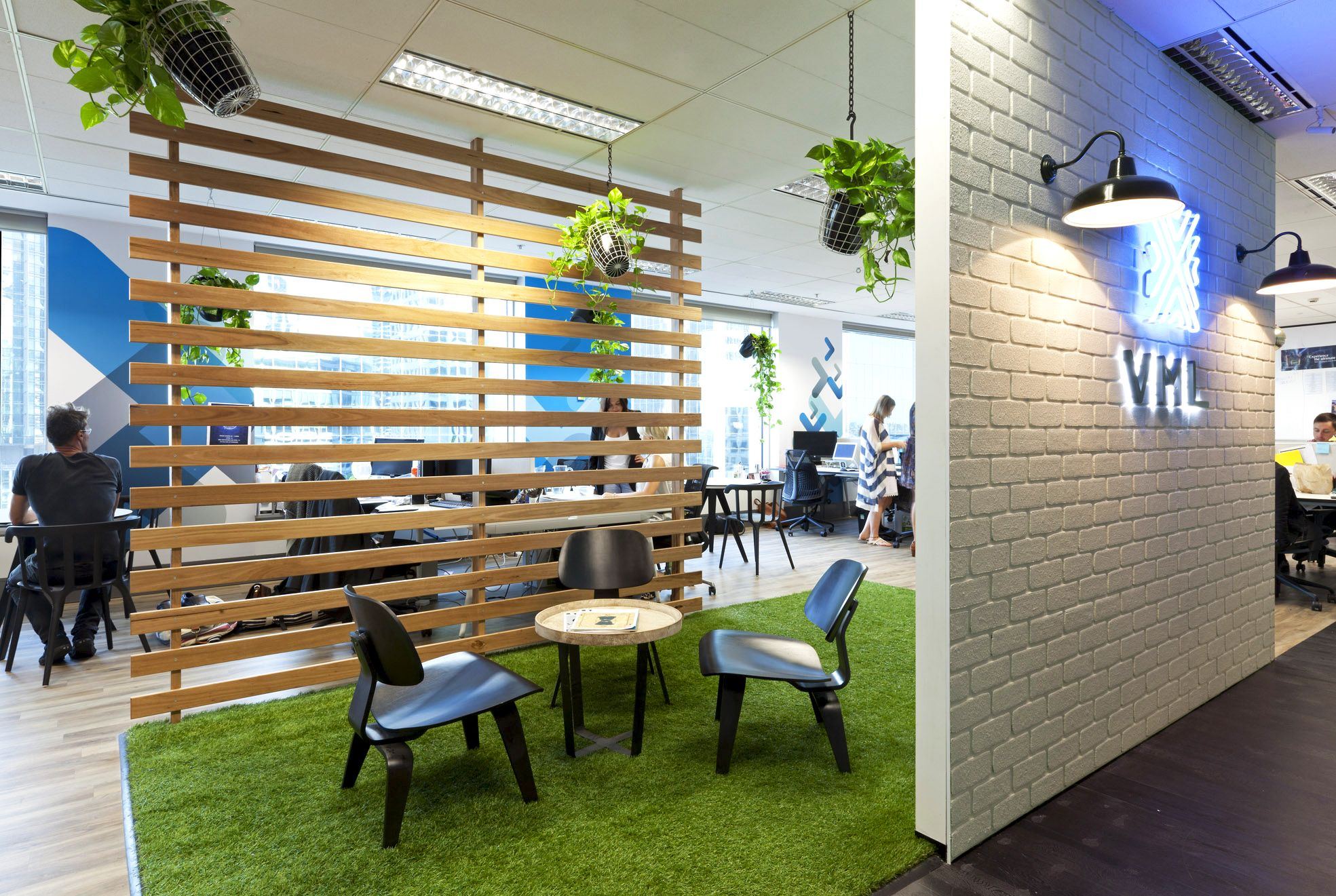 commercial office design office space. Y\u0026R Sydney Office - Nature Indoors Biophilic Design Commercial Space U
