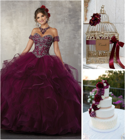 5 Quinceanera Colors Perfect for a Fall Celebration ...
