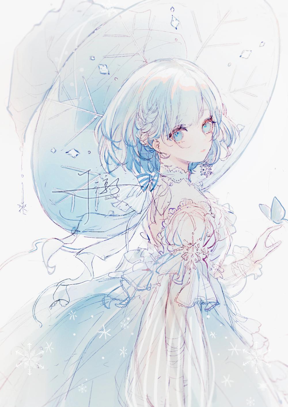 Photo of #女の子 雪之魔女 – 千涼子のイラスト – pixiv