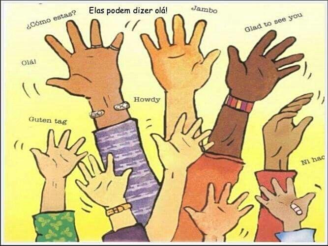 As mãos