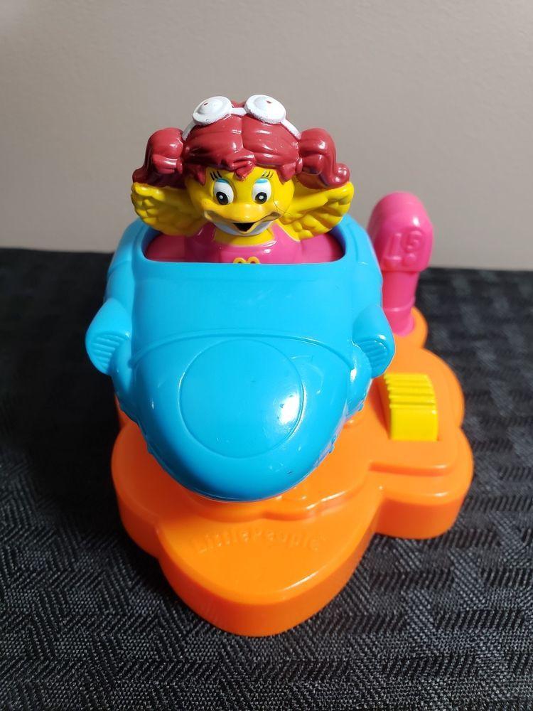 2005 mcdonalds fisher price under 3 toy birdie space ship