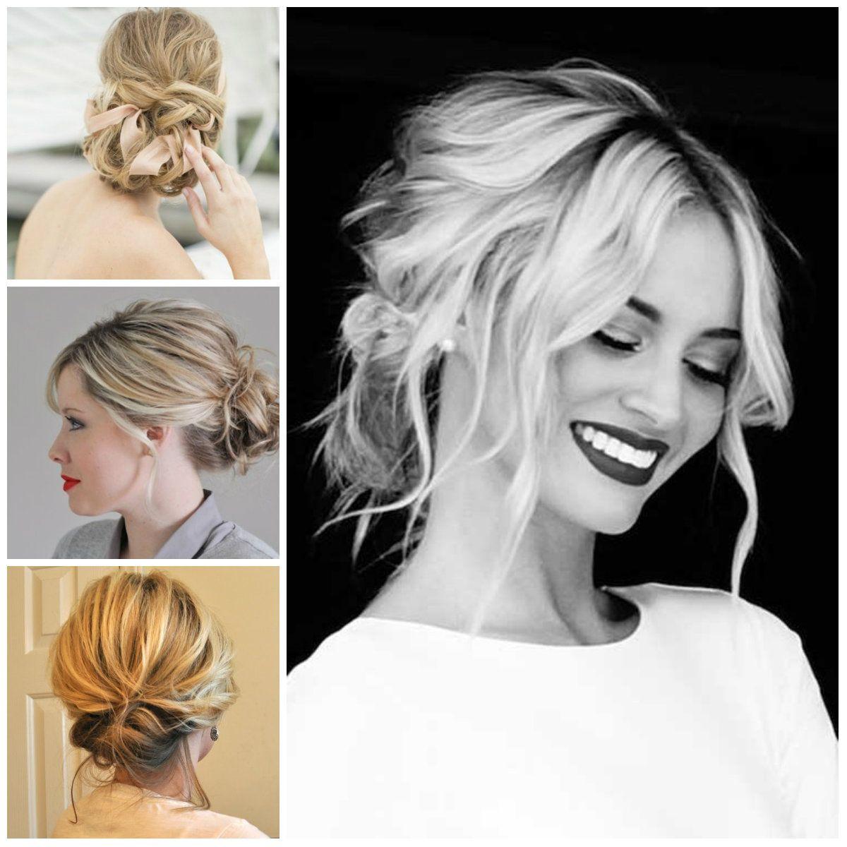 tender updos for medium length hair   haircuts, hairstyles 2016