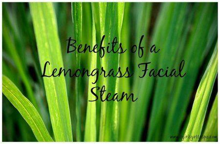 DIY Lemongrass Facial Steam - #lemongrass #DIYfacial #facialsteam #steam #agirlsgottaspa - bellashoot.com