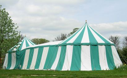 Two Grand Round Pavilion Tents with corrdior & Two Grand Round Pavilion Tents with corrdior(http ...