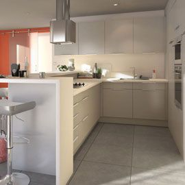 1000 images about kitchen project on pinterest stove bandeaus and construction - Cuisine Blanc Gris Taupe