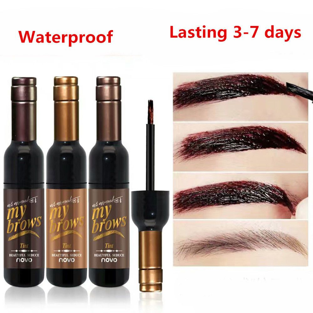 Details about 3 Colors Peeloff Eyebrow Tattoo Tint My
